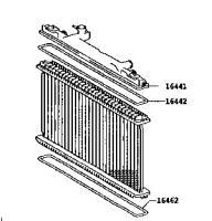 Радиатор двигателя Тойота Камри XV30 3.0 (TERMAL)