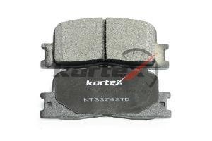 Задние тормозные колодки Тойота Камри V30 (Kortex)